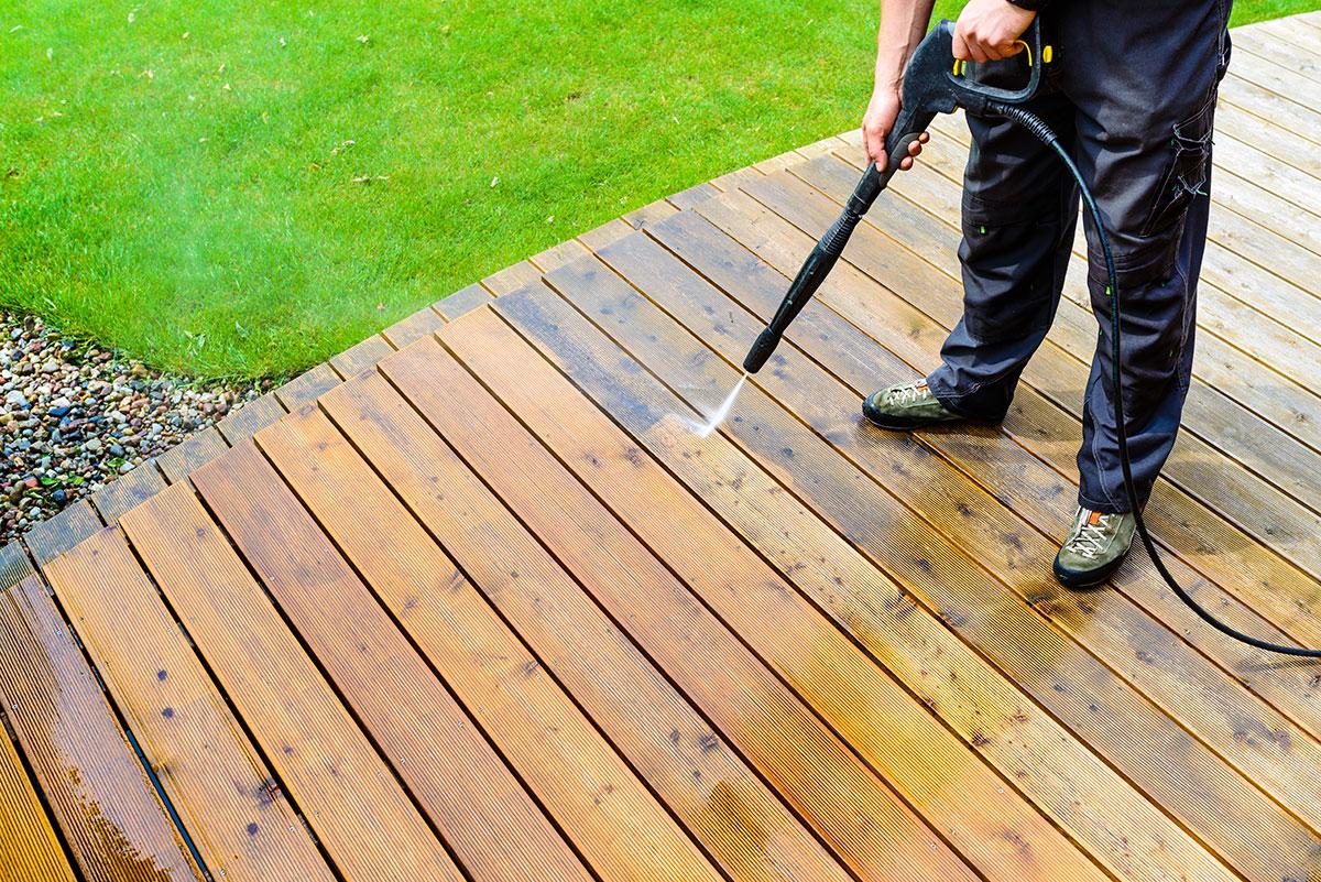 Deck Service We Stain Decks